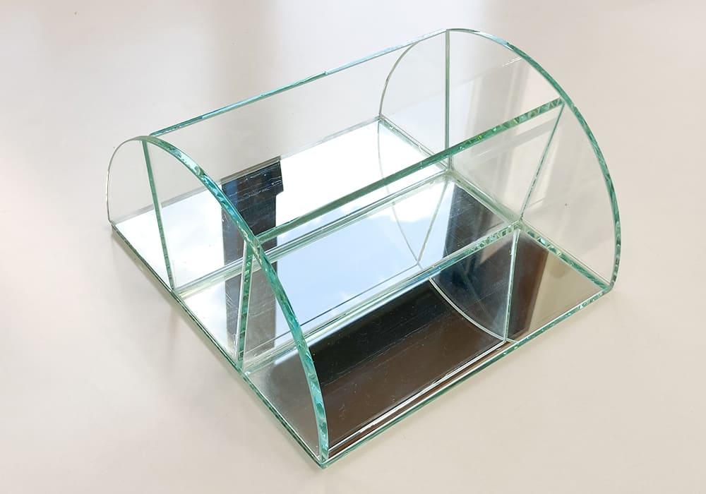ガラス製 ブックスタンド01