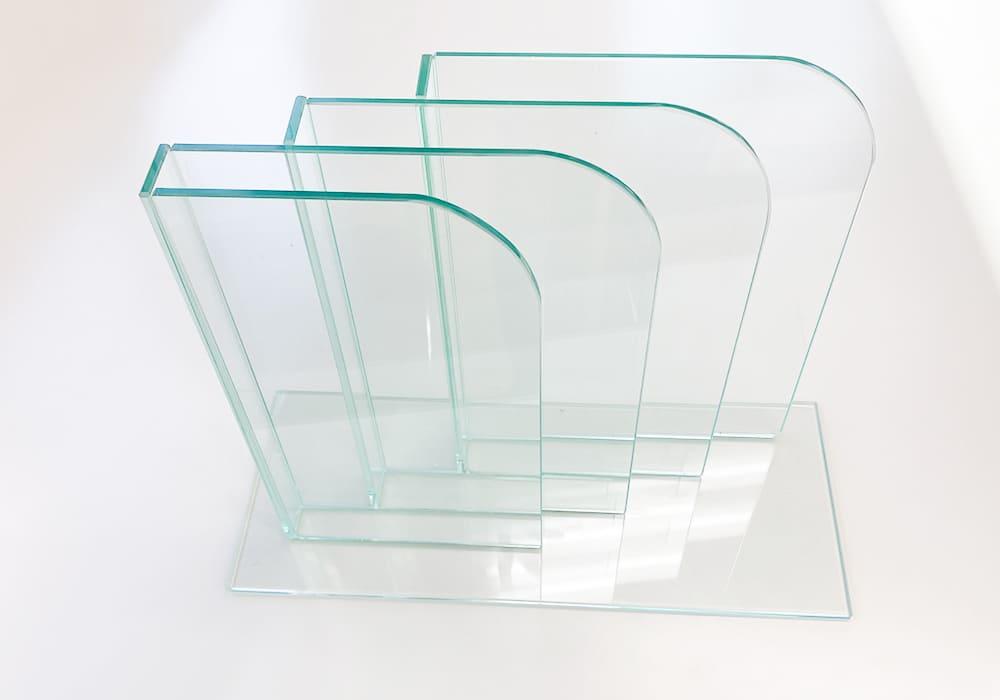 ガラス製 ブックスタンド02
